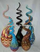 Hand Blown Twisted Glass