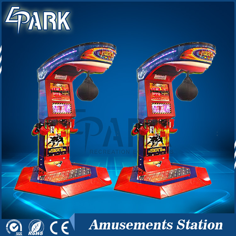 Ultimate big punch boxing equipment, electronic punching boxing punch arcade machine