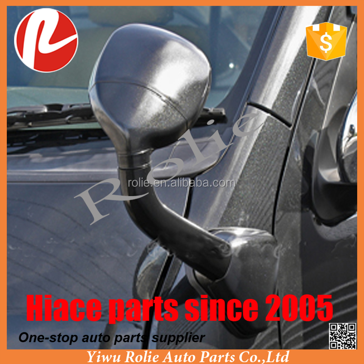 Toyota hiace 200 2005-2020 black forehead mirror use for front land panel