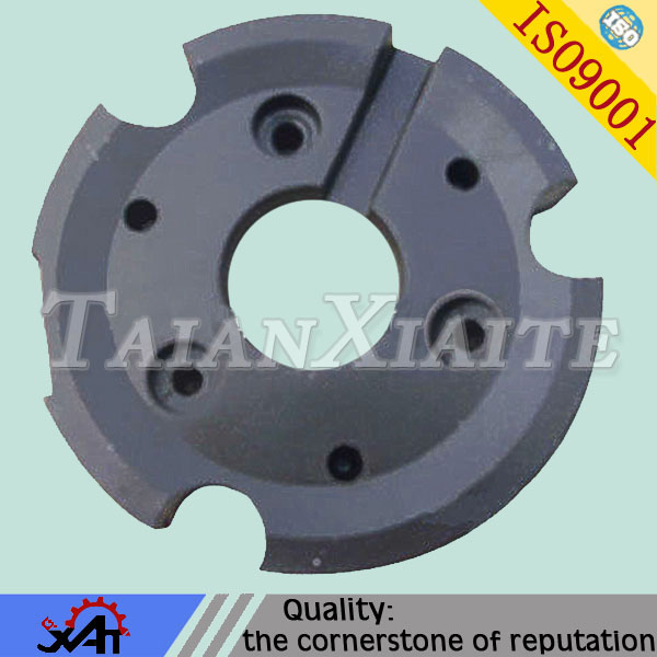 China customized V process casted part,ductile iron casting parts with ISO certificate