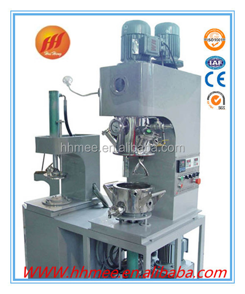 Heating or cooling tumbler mixer machine