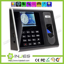 China Top Ten Seller Free SDK 3000 User TFT Screen TCP/IP USB Backup Battery fingerprint attendance machine for Office