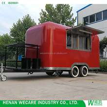 China made Mobile Restaurant Cart Coffee Truck for Sale