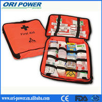New CE ISO FDA approved oem promotional wholesale office home pet car first aid kit