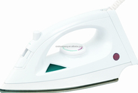 dry/steam iron with variable steam setting and with SS sole-plate or non-stick sole-plate of home laundry use