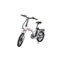20inch Portable City Folding Electric Bike Mini Folding Bike 250W*36V 10Ah Lithium Battery Electric Bike City Cycling