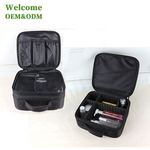 KID large capacity cosmetic and beauty bag travel makeup organizer