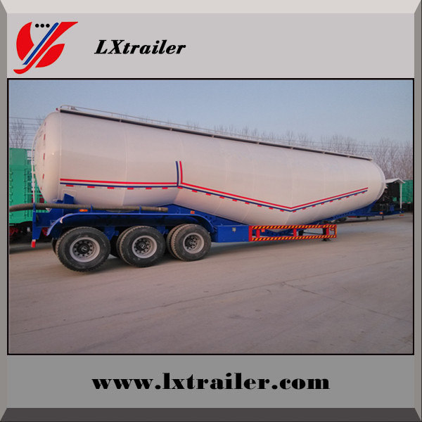 HOT SALE Powder material tanker,transport food tanktrailer ,tanker truck