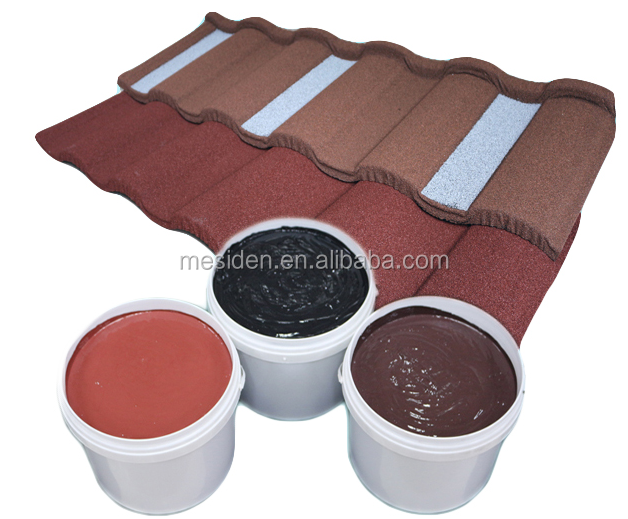 Raw Material Acrylic Glue For Corrugated Stone Coated Roof Tile