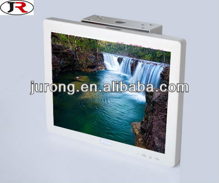 15 inch bus roof mounted car lcd monitor with VGA optional