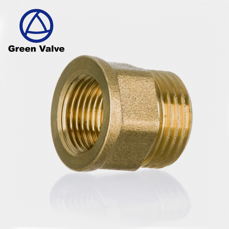 Green- Good Price cw 617n 3/8 1/2 inch M thread Brass reducing connector <strong>fittings</strong>