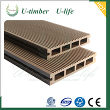 UV-protect and anti-rot WPC decking boards and composite flooring