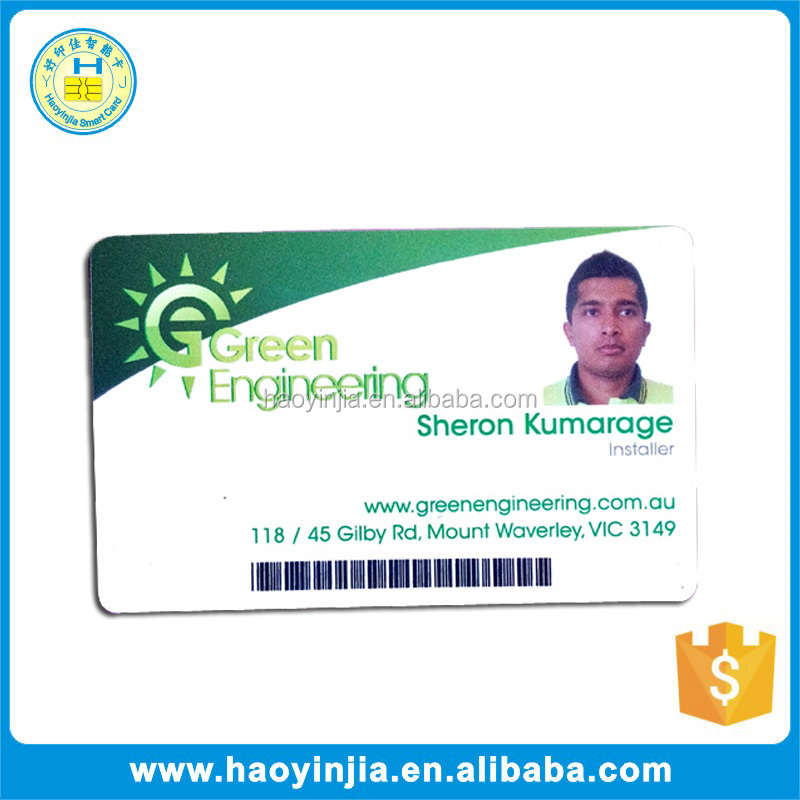 Good Quality PVC Barcode Scanner Sim Card