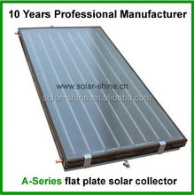Newest high efficiency flat plate solar thermal collector prices,solar flat plate collector