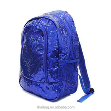 Hot New Sequin Solid Color Canvas Backpack Sequin backpack bag