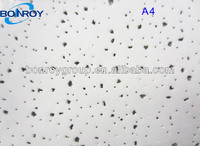 sound deadening mineral fiber ceiling panel (BONROY A4 design )