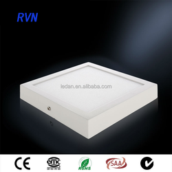 3C Aprroved 36w 45w 60w ultra thin surface mounted square led panel light 600x600