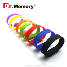 Dr.memory 20% discount!!1GB 2GB 4GB 8GB 16GB 32GB wristband silicone usb drive, waterproof bracelet USB with free samples