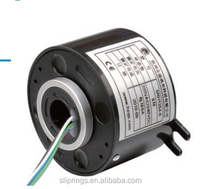 through-bore slip ring srh series srh 70155 id is 70mm od is 155mm long life