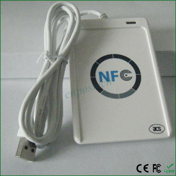 ACR122U Factory Price long range rfid transponder readers with chips for hotel with 13.56mhz