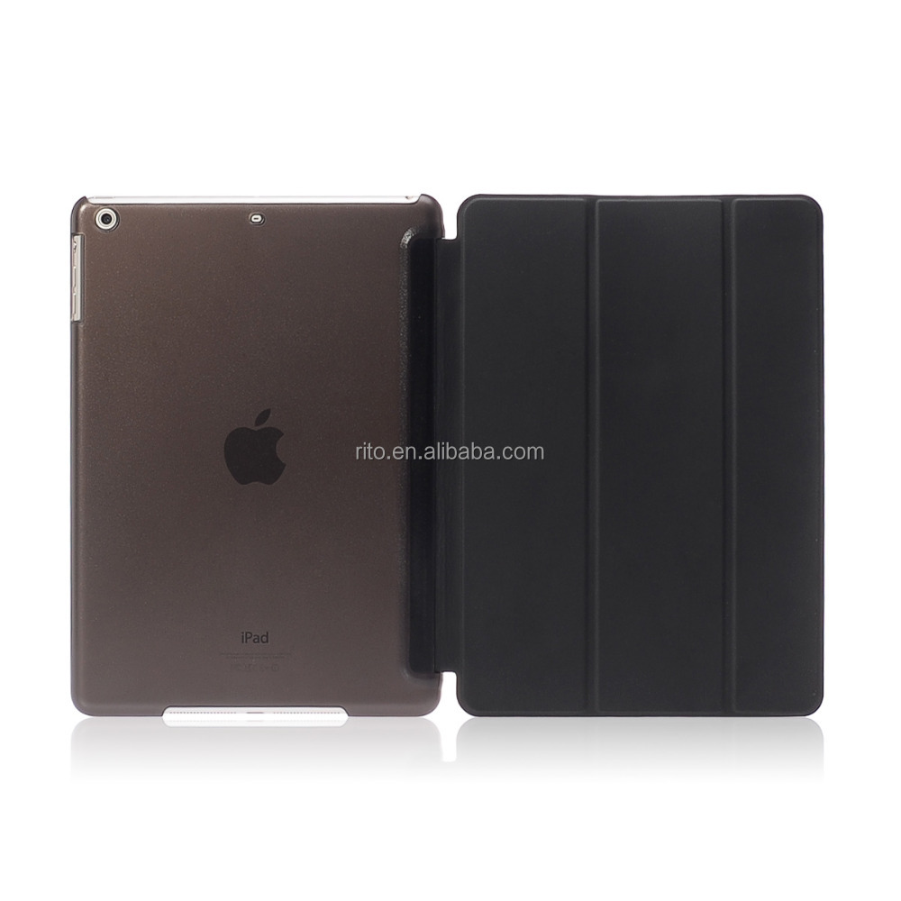 For iPad Air 2 Leather Case, Full Protector Smart Case for iPad 6
