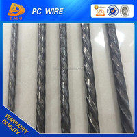 Exported Spiral Ribbed 4mm High Tensile PC Wire