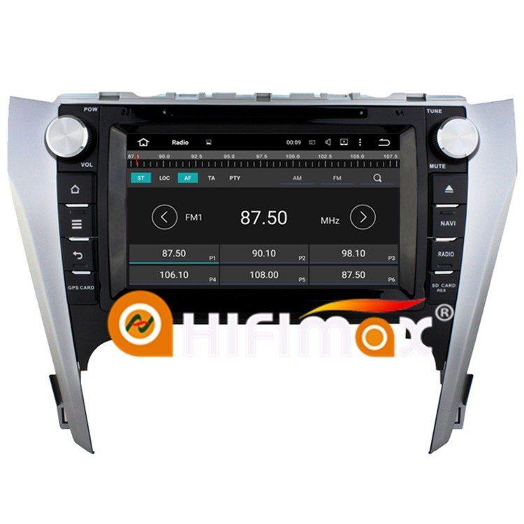 HIFIMAX Android 7.1 Car DVD GPS Navigation For TOYOTA CAMRY 2012(EU virson) Steering wheel Control With 3G Wifi 2G RAM 16G Flash