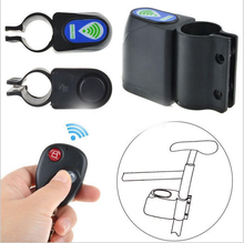 Remote bicycle lock mountain bike lock alarm lock with remote control