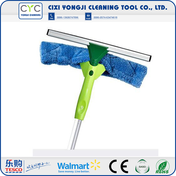 Stainless Steel long handled window cleaning brush