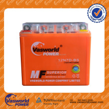 High performance motor battery 12n7a 3a motorcycle battery