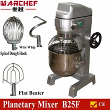 B25F 25L bowl stainless steel Commercial Baking bread /food/cake mixer/baking machine