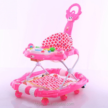 2018 factory wholesale hot sale Multifunction round baby walker , 360 degree rotating new model round outdoor baby walker.
