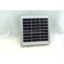 Solarparts 1x 3W 12V 250mA tempered glass laminated pv cheap solar cell panel sale system price