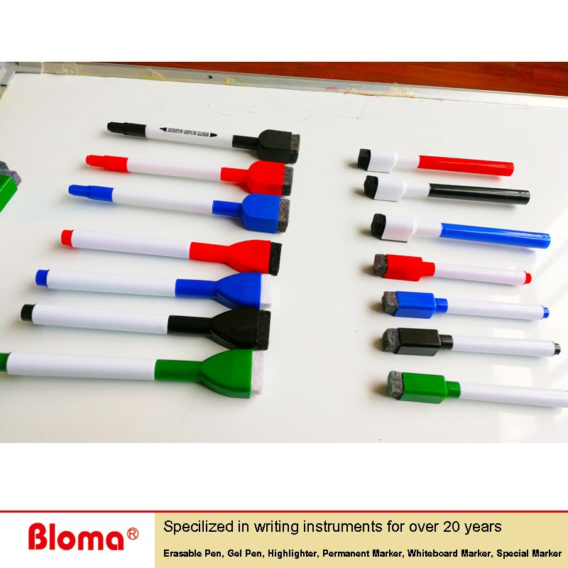 Bloma Low odor Ultra Magnet Dual Tips White Board Dry Erase Markers for home school and office