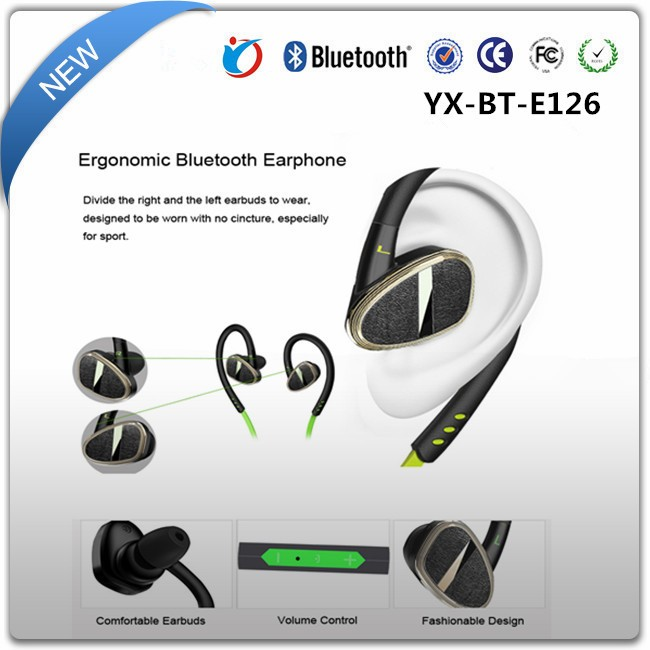 Factory OEM Sport Mini V4.0 Wireless In Ear Blutooth Headset With Microphone