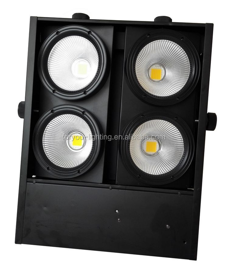 4*100Watt Factory Direct Sale 4*100W RGBWA+UV 6IN1 COB LED 4Eye Audience Blinder Light