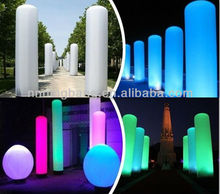 hot sale party decoration inflatable pillar /inflatable light column