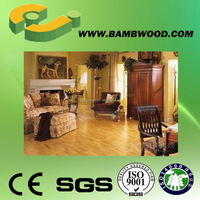 Glossy surface solid bamboo standard flooring pros and cons