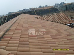 IVON clay roof tiles shingle clay roof tiles