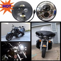 "Promotion!!! HOT sale 45W 7"" led motorcycle headlight bulb"