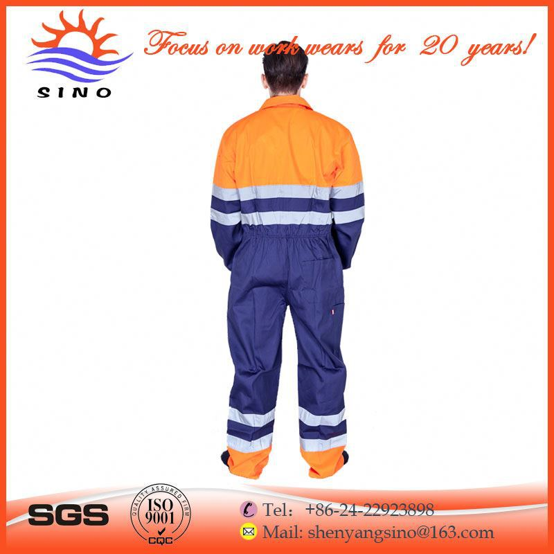 Custom high quality stiff and smooth best overalls for work
