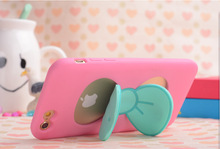Cute kickstand case for iPhone 6S phones / fruit colorful case for iPhone 6S protector / for iPhone 6S kickstand case