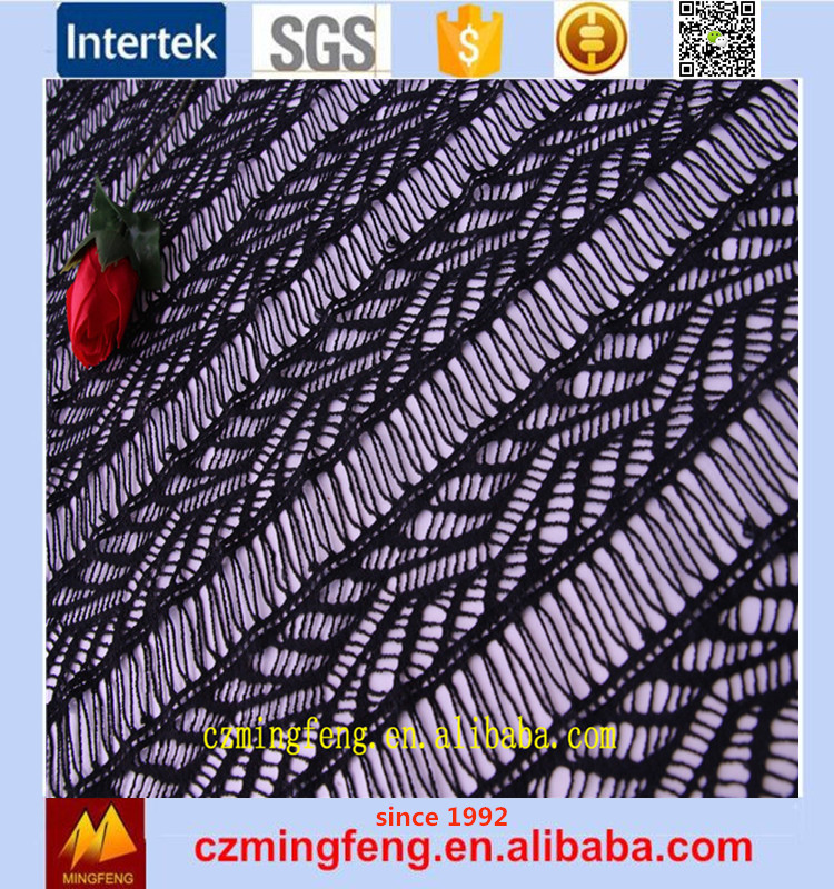 2017Spandex Textile Fabric Lace From China Factory