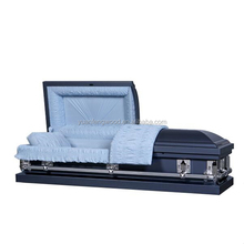refrigerator coffin KM2057 beauiful metal casket