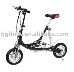 "12"" lightweight folding electric bike custom beach cruiser"