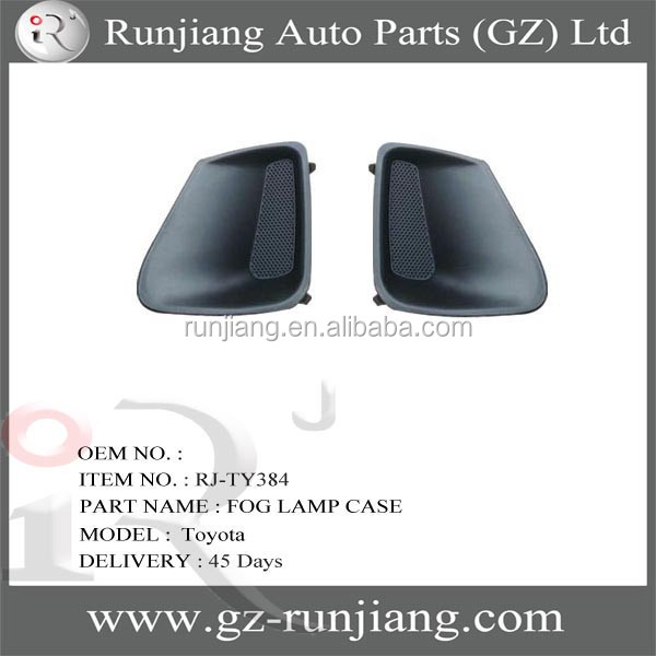 plastic Fog Lamp Case For Corolla 2010 car body parts