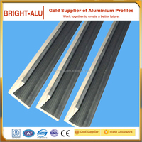 Bottom price custom chamfer edge roofing aluminum sheets aluminium profile for architecture