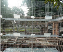 2016 best sales 24 pcs bird cage materials galvanized wire pigeon breeding cage HJ-PC24
