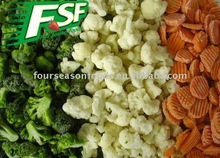 Frozen fruit and vegetable