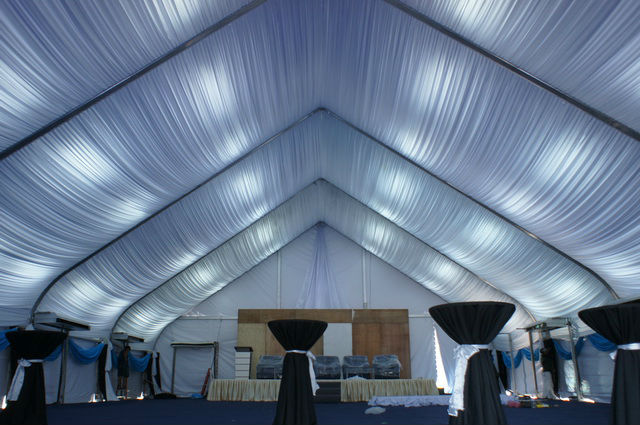 Alum. Dome Marquee Tent